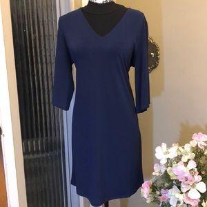 Gorgeous Michael Kors dress in Navy Blue.  Size Sm